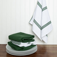 Laden Sie das Bild in den Galerie-Viewer, Set of 4 Cotton Terry Tea Towels available in Eight Colours - Sticky Toffee Store