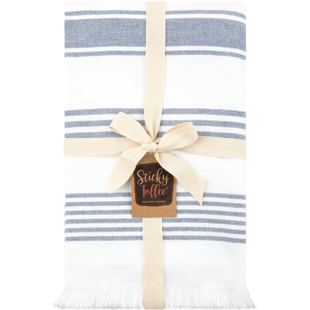 Hammam Cotton Towel in Two Colours - Sticky Toffee Store