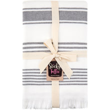 Load image into Gallery viewer, Hammam Cotton Towel - Grey - Sticky Toffee Store