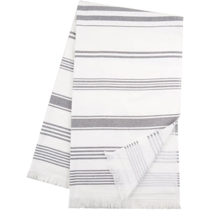 Hammam Cotton Towel - Grey - Sticky Toffee Store