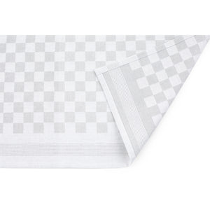 Large Set of 10 Woven Textured Check Tea Towels in Six Colours - Sticky Toffee Store