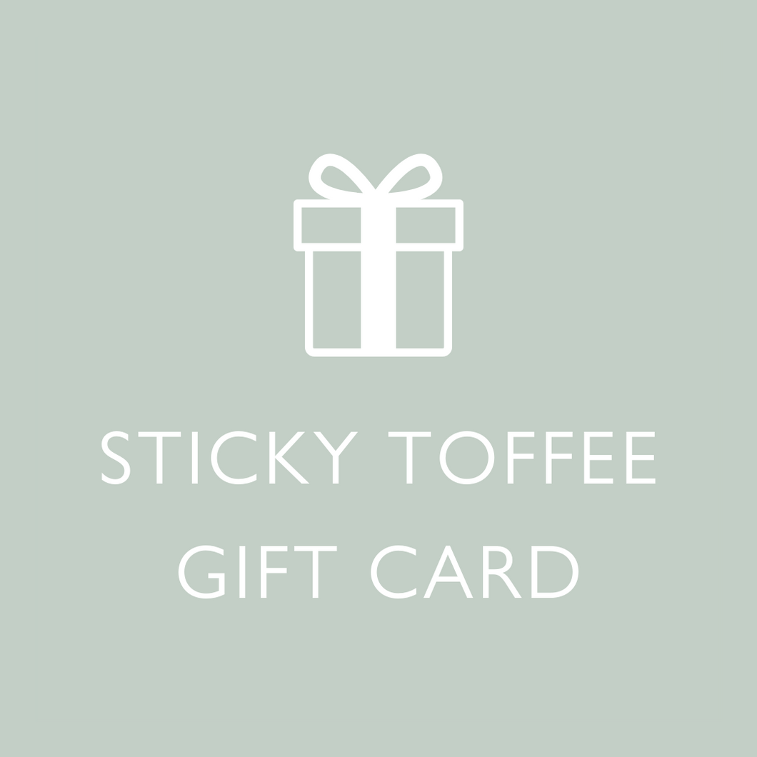 Gift Card - Sticky Toffee Store