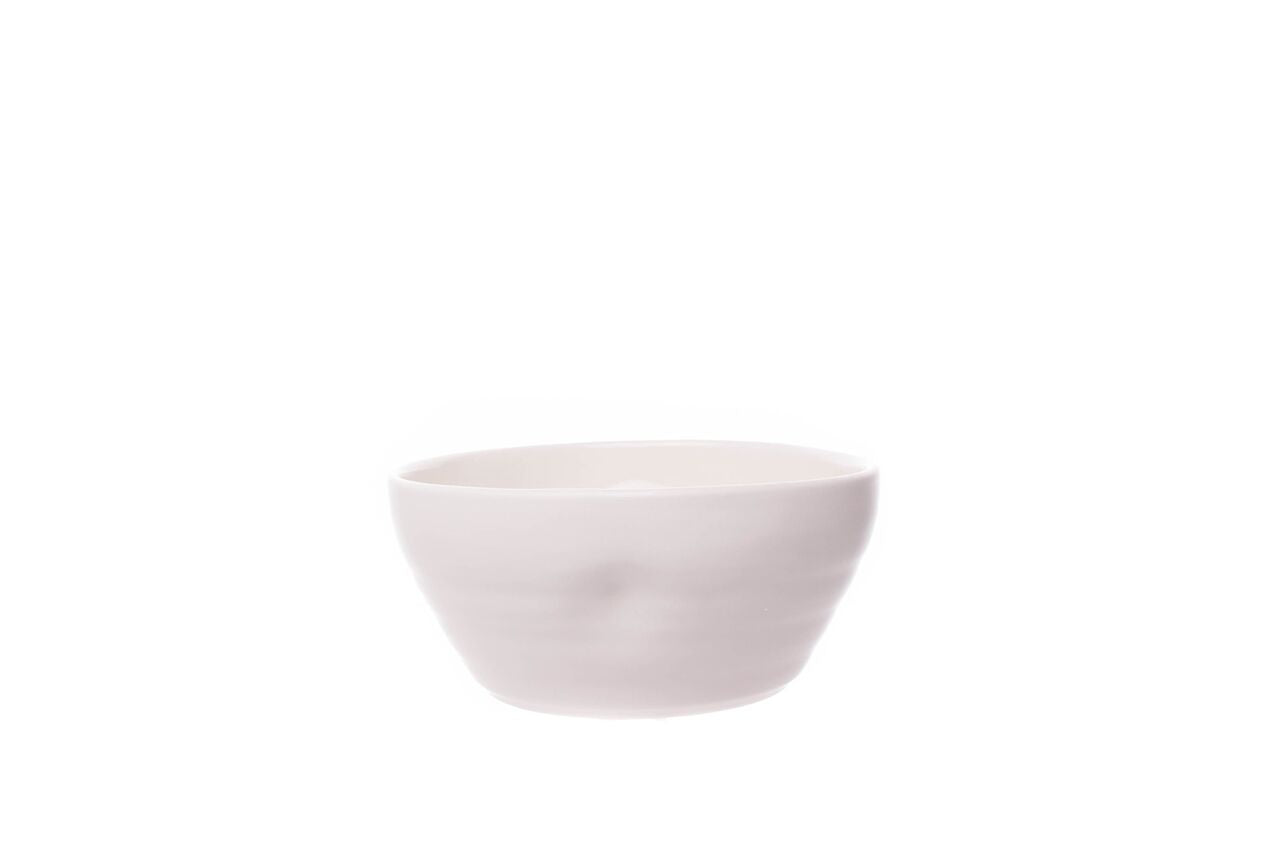 Pinch Cereal Bowl in White (Set of 4)