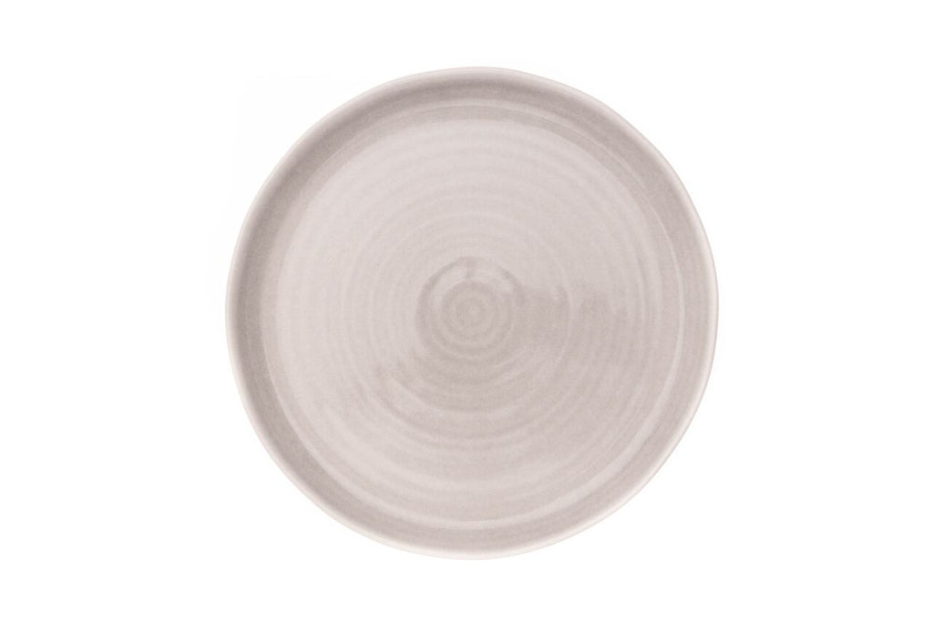 Pinch Dinner Plate in Grey (Set of 4)