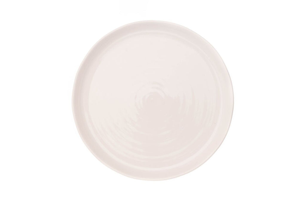 Pinch Dinner Plate in White (Set of 4)