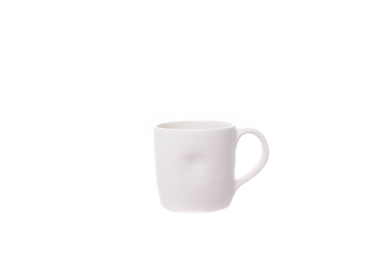 Pinch Mug in White (Set of 4)