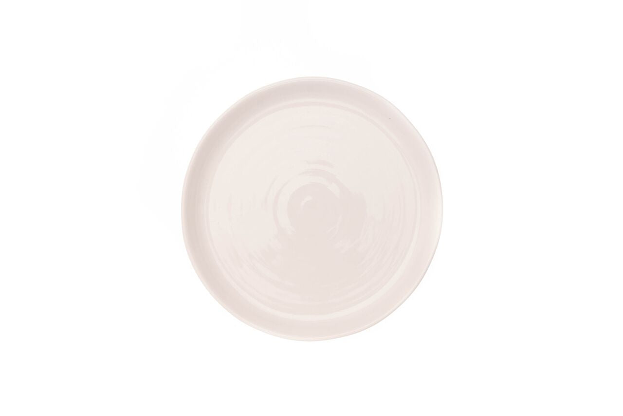 Pinch Side Plate in White (Set of 4)