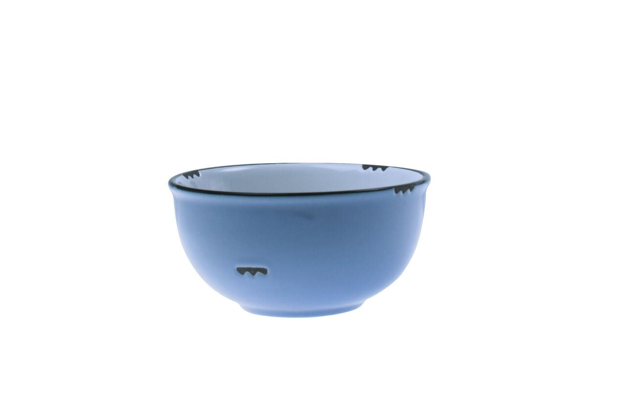Tinware Small Bowl in Cashmere blue (Set of 4)