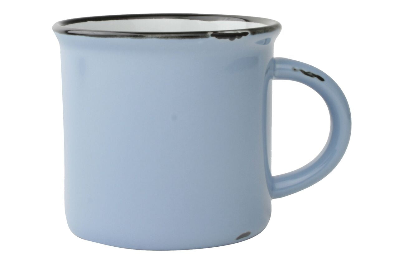Tinware Mug in Cashmere Blue (Set of 4)