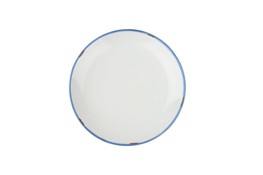 Tinware Side Plate in White (Set of 4)