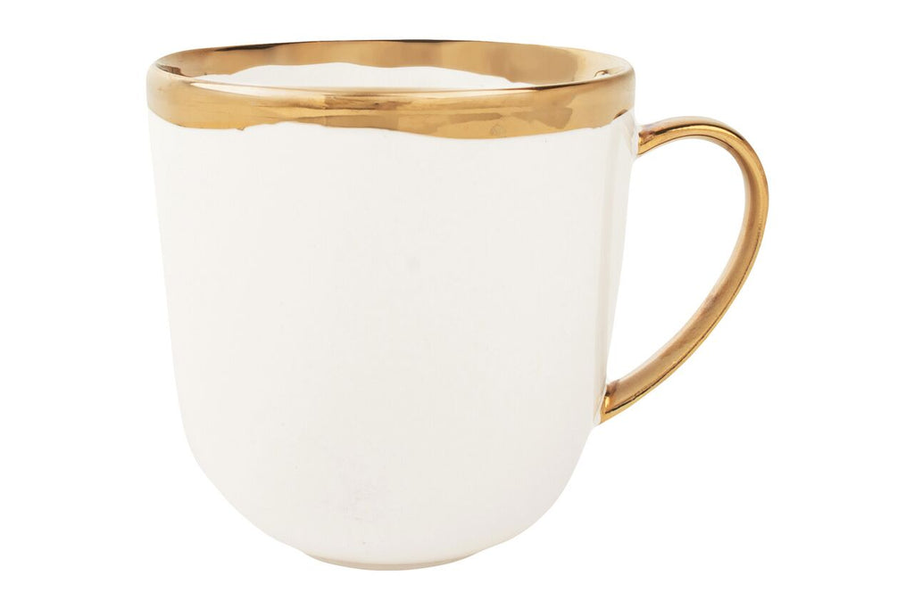 Dauville Mug in Gold (Set of 4)