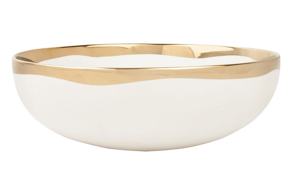 Dauville Serving Bowl in Gold