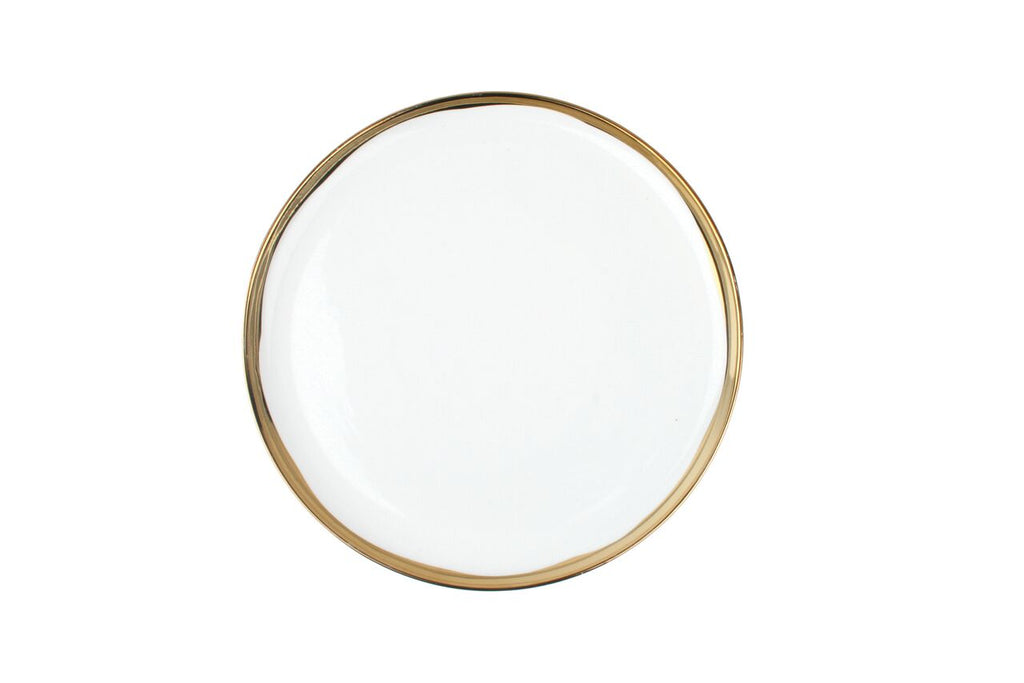 Dauville Side Plate in Gold (Set of 4)