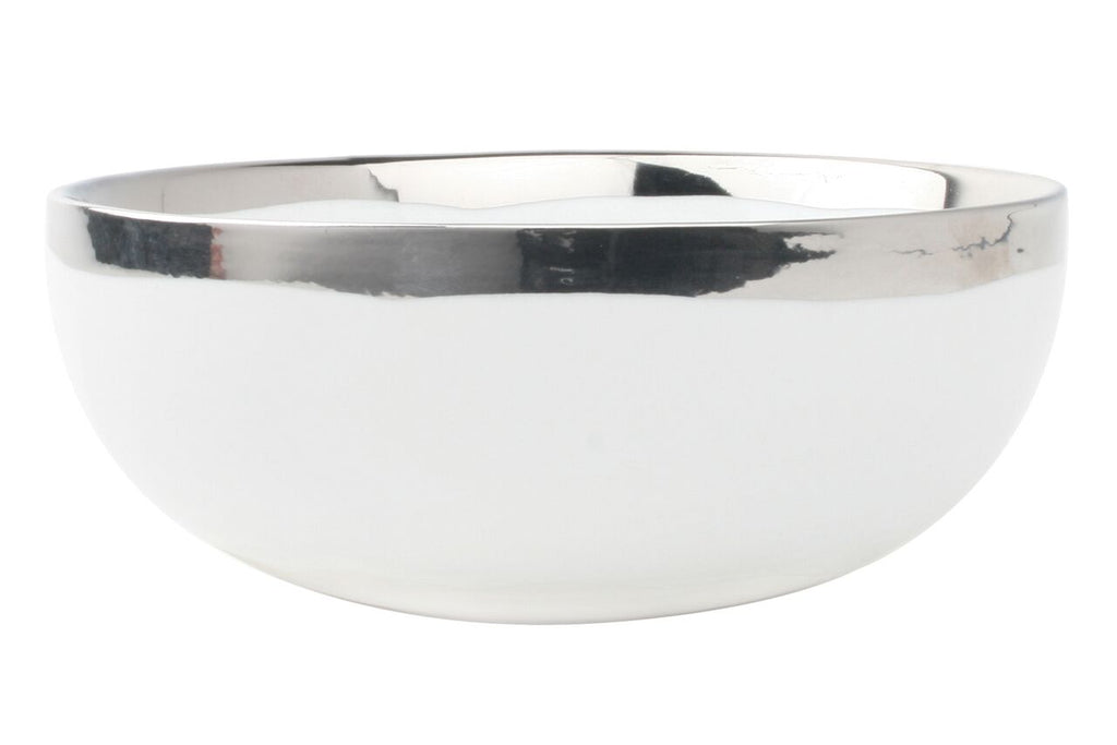 Dauville Cereal Bowl in Platinum (Set of 4)