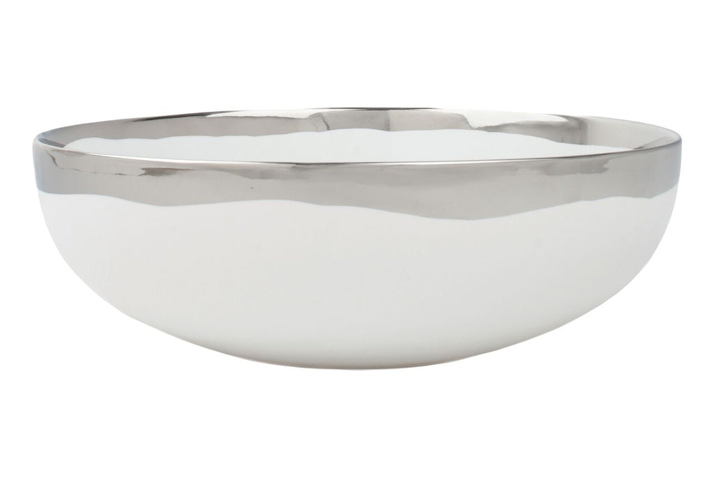 Dauville Serving Bowl in Platinum