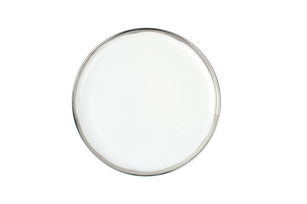 Dauville Side Plate in Platinum (Set of 4)