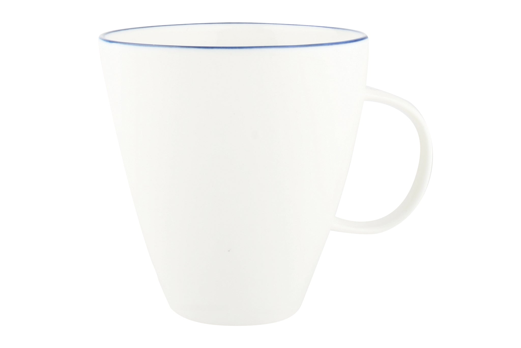 Abbesses Mug Blue Rim (Set of 4)