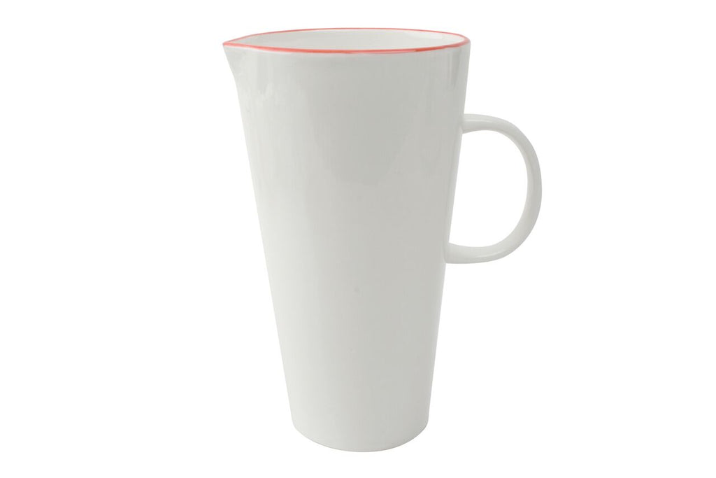 Abbesses Jug Red Rim