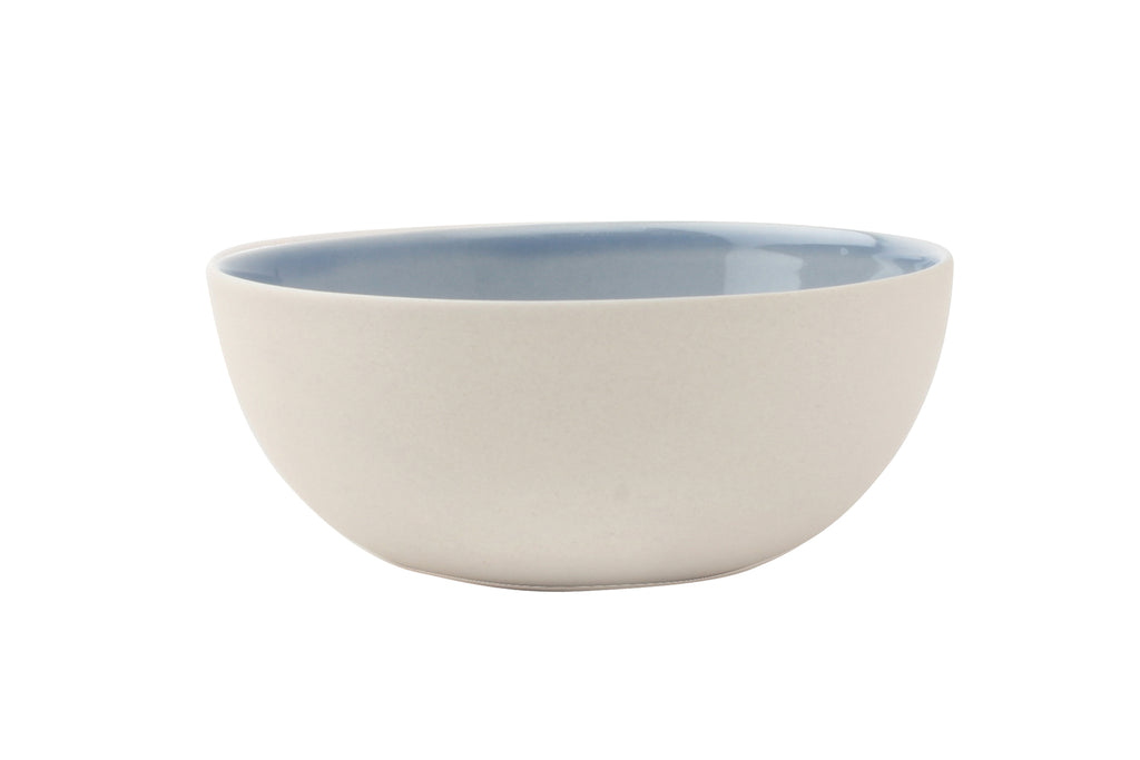 Shell Bisque Small Bowl Blue (Set of 4)