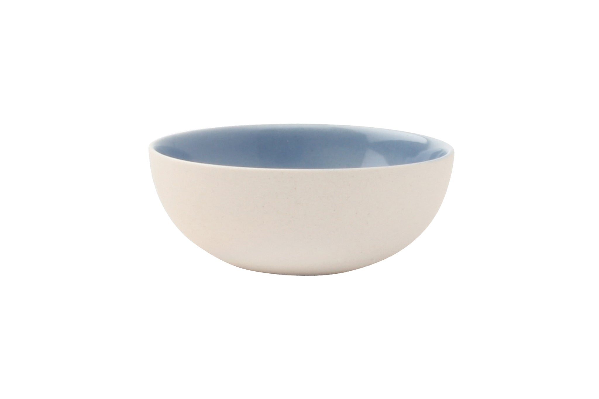 Shell Bisque Tiny Bowl Blue (Set of 4)