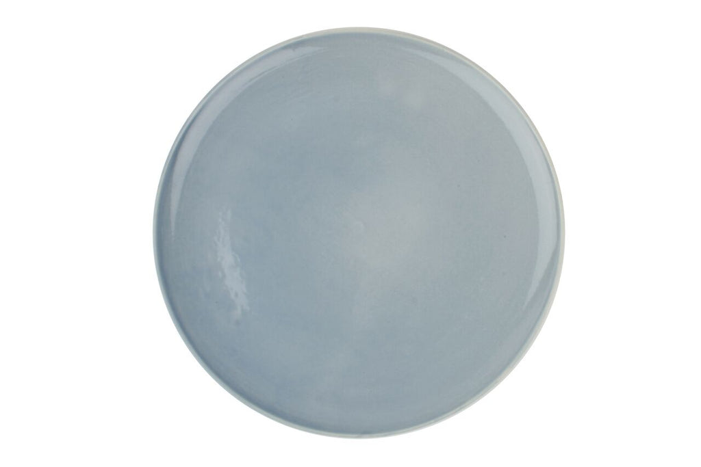 Shell Bisque Dinner Plate Blue (Set of 4)