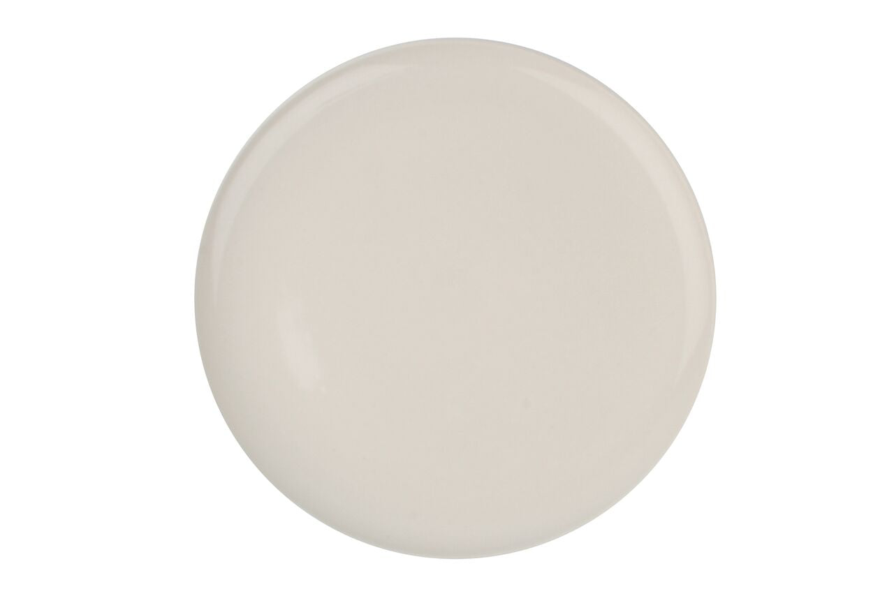 Shell Bisque Dinner Plate White (Set of 4)