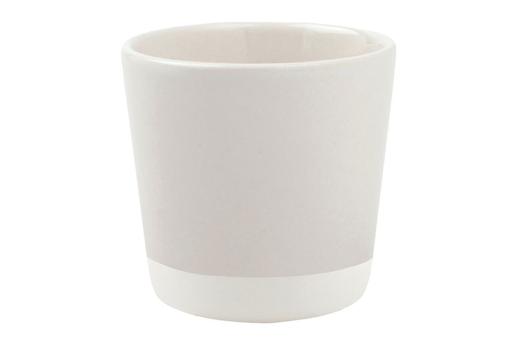 Shell Bisque Coffee Cup White (Set of 4)