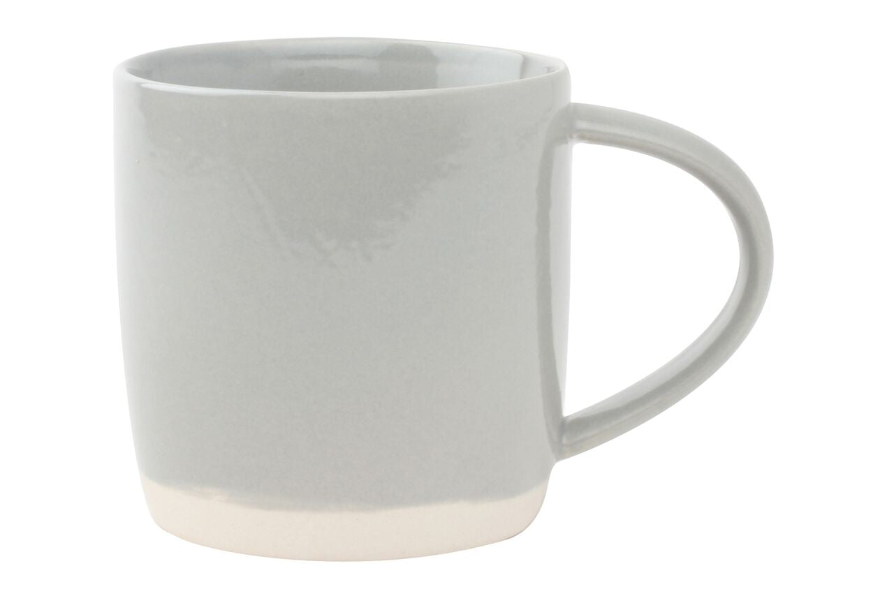 Shell Bisque Mug Grey (Set of 4)