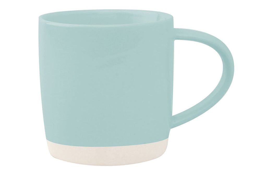 Shell Bisque Mug Mist (Set of 4)
