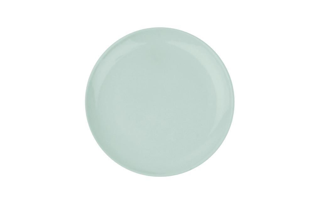 Shell Bisque Salad Plate Mist