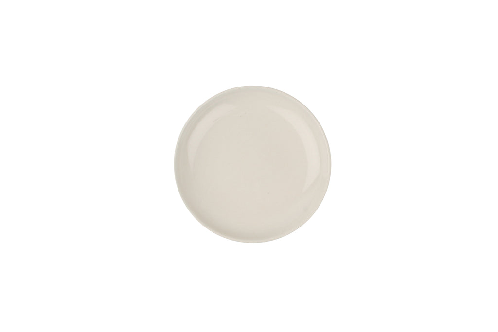 Shell Bisque Small Plate White (Set of 4)