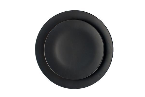Salamanca Salad Plate in Black - Canvas Home