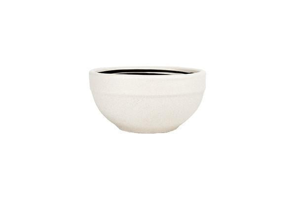 Salamanca Fruit Bowl in Black & White Stripe - Canvas Home