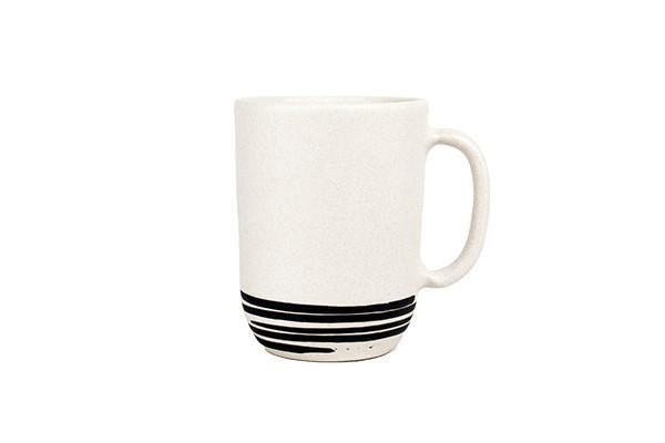 Salamanca Mug in Black & White Stripe - Canvas Home