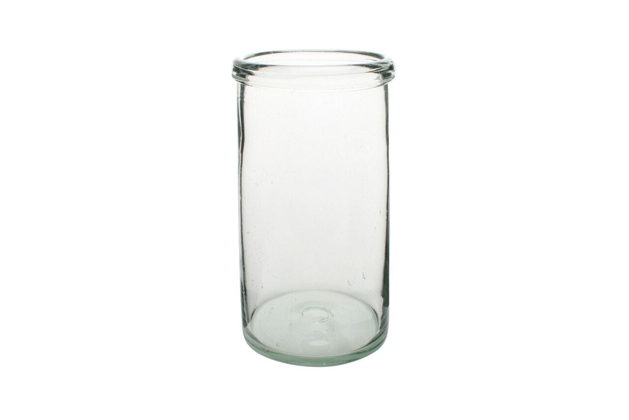Cylinder Glass Large Vase