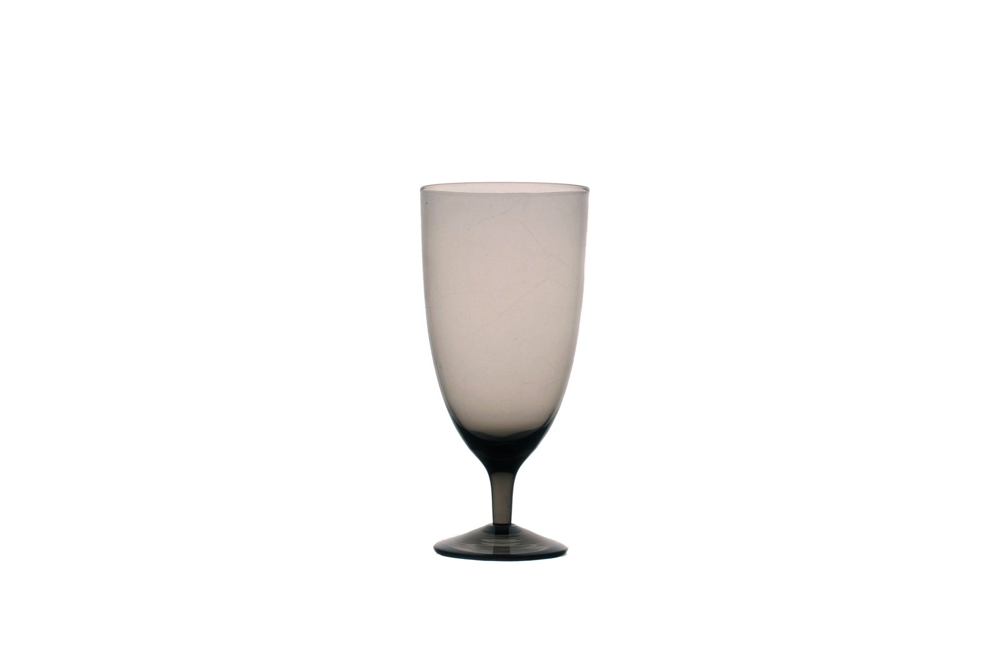 Amwell Water Glass in Smoke (Set of 4)
