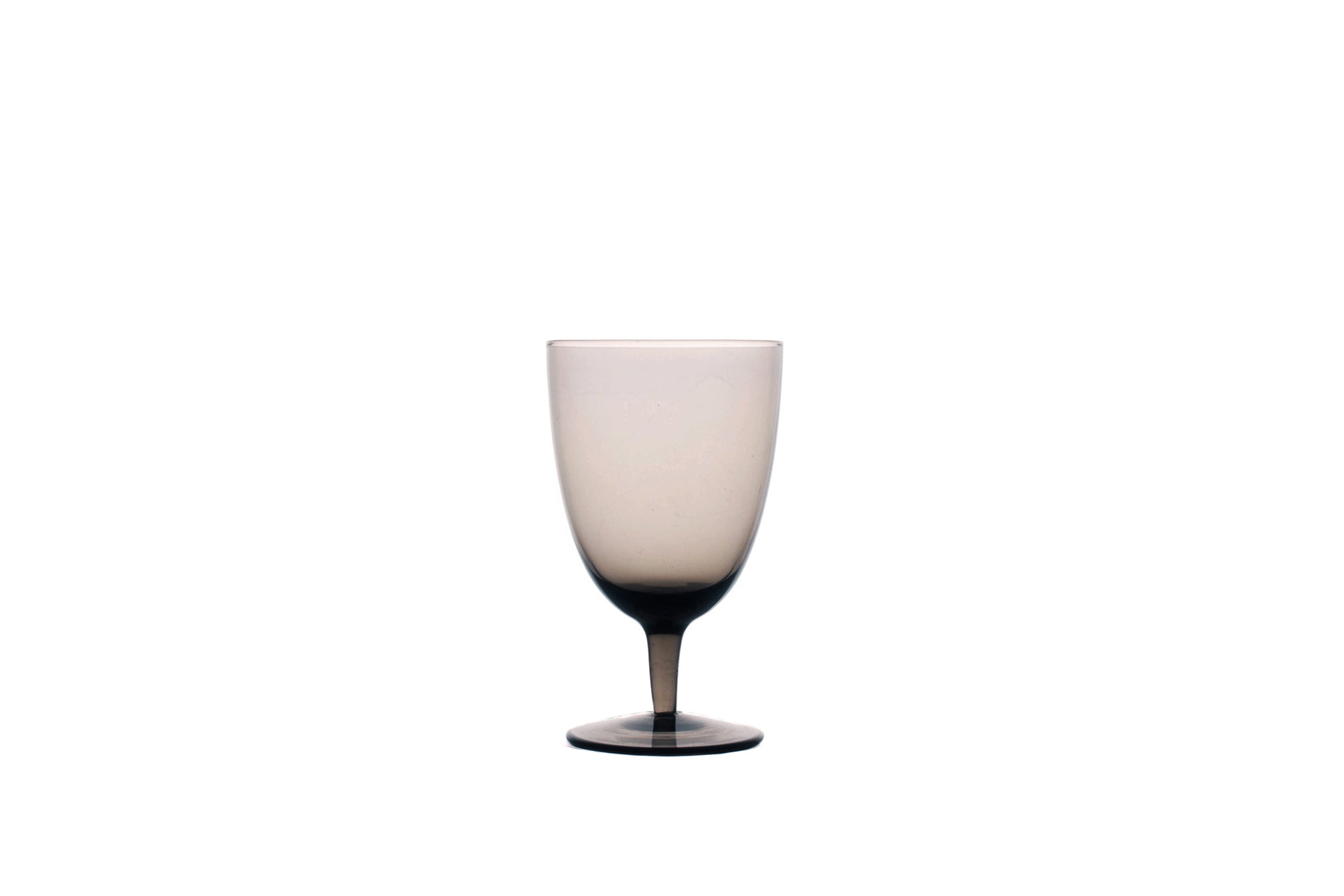 Amwell White Wine Glass in Smoke (Set of 4)