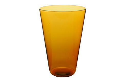 Eau Minerale Large Glass in Amber - Canvas Home