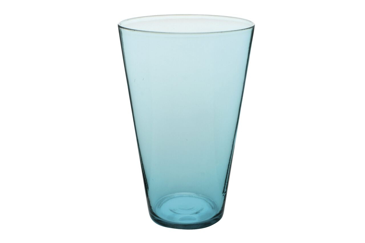 Eau Minerale Large Glass in Aqua (Set of 4)