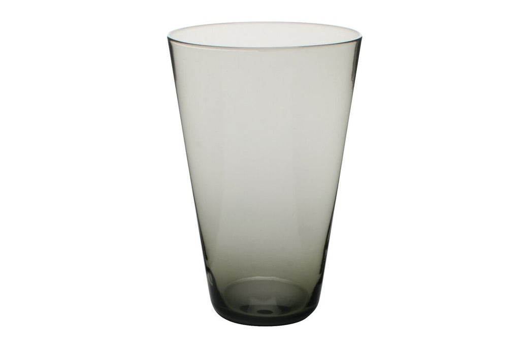 Eau Minerale Large Glass in Smoked (Set of 4)