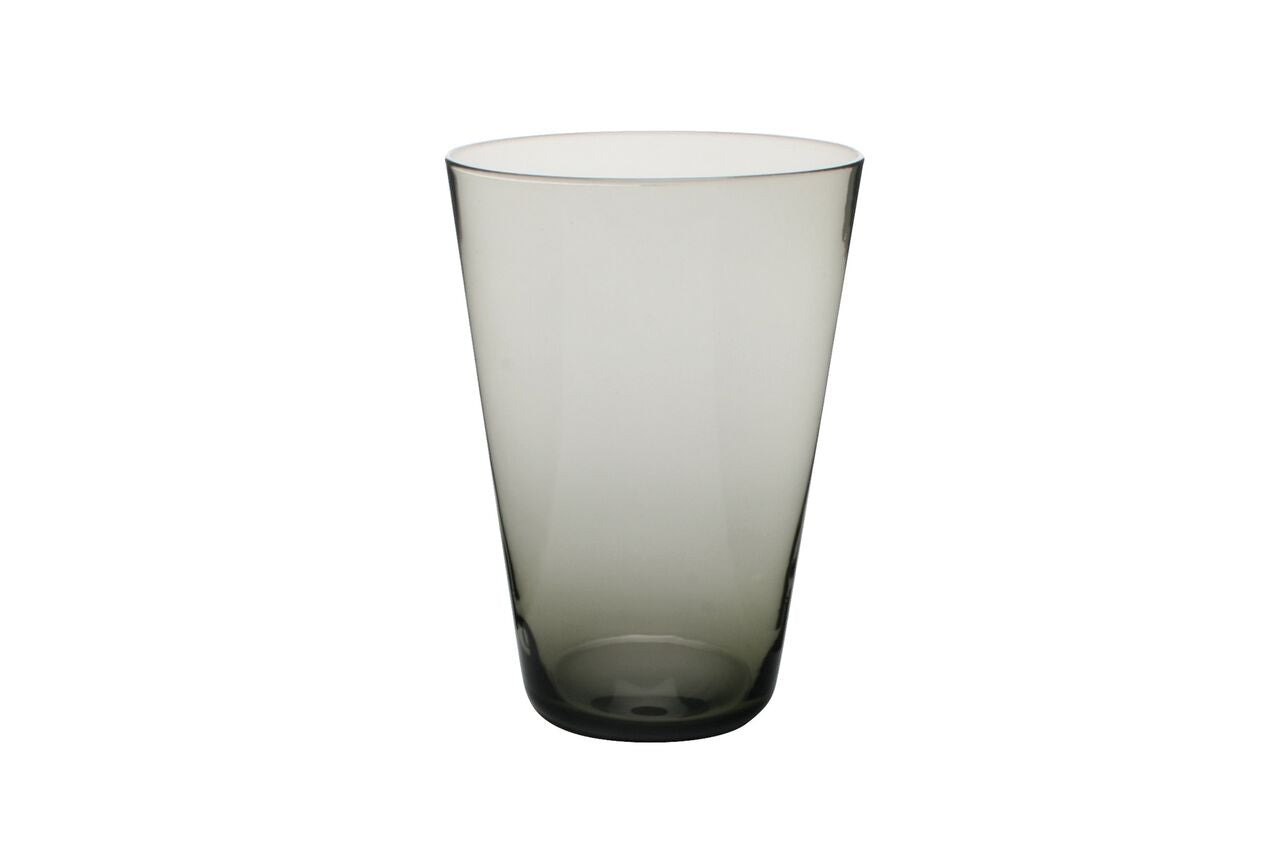 Eau Minerale Glass in Smoked (Set of 4)