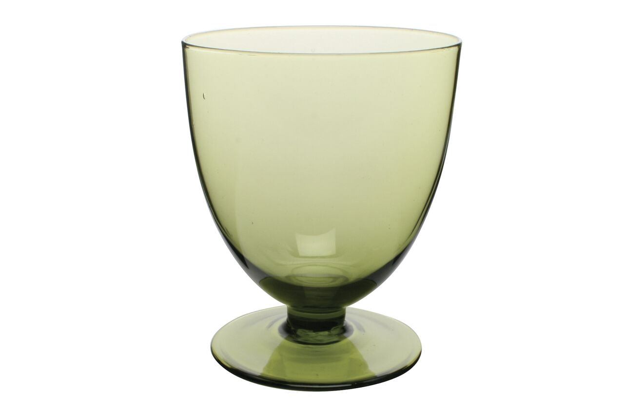 Fat Glass in Green (Set of 6)