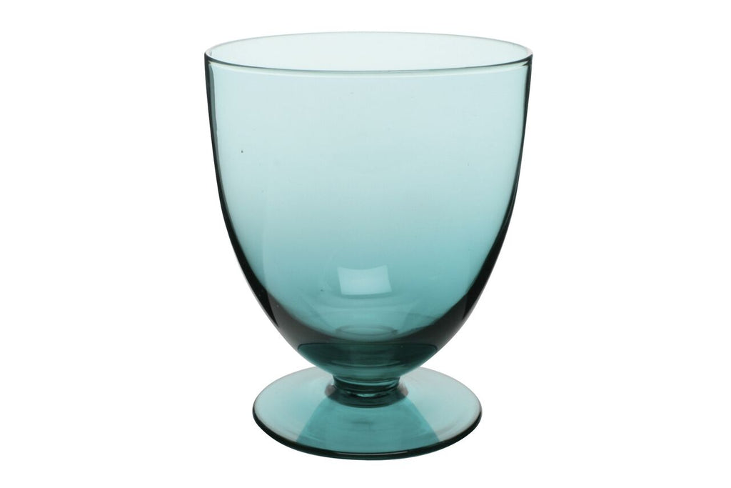 Fat Glass in Aqua (Set of 6)
