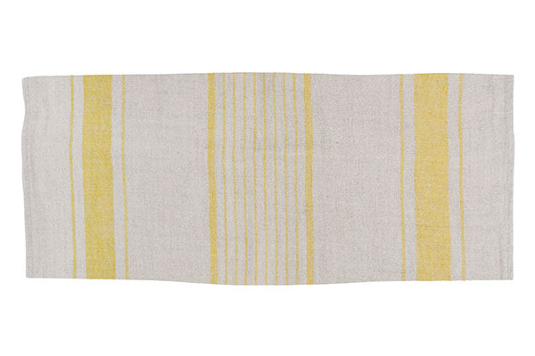 French Linen Tea Towel Yellow (Set of 2)