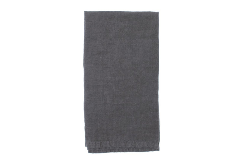 Vilnius Linen Napkin Charcoal Grey (Set of 4)