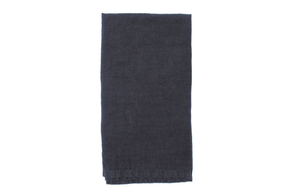 Vilnius Linen Napkin Dark Grey (Set of 4)