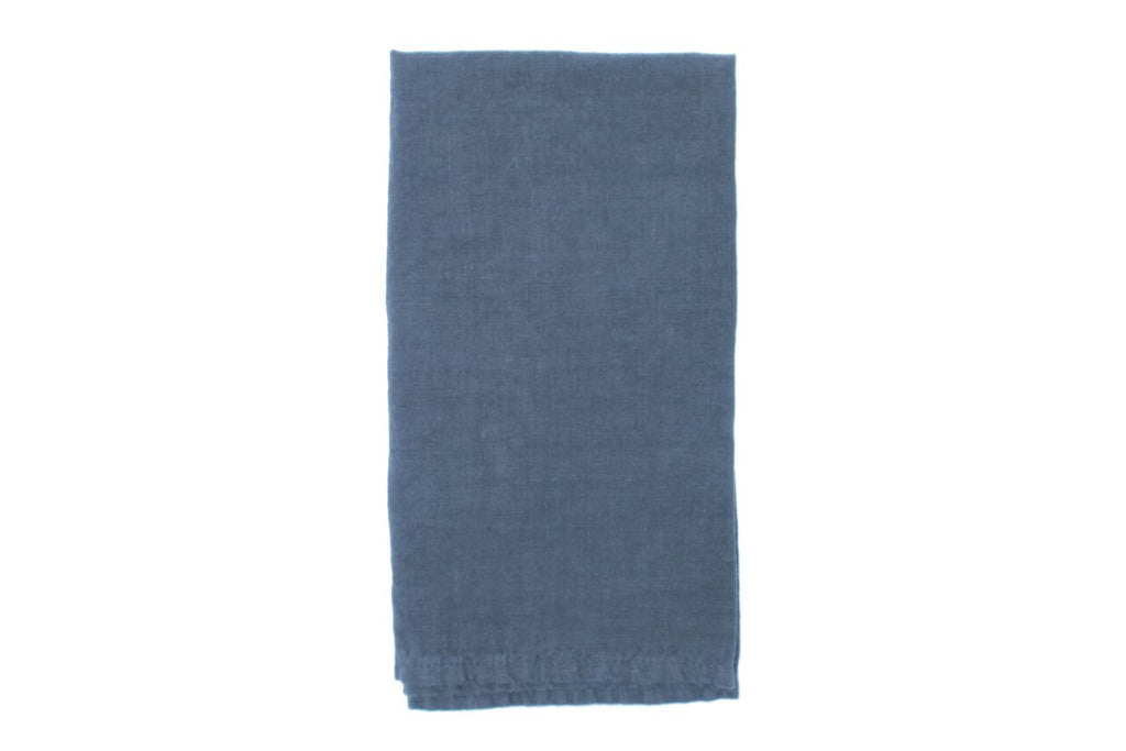 Vilnius Linen Napkin Green/grey (Set of 4)