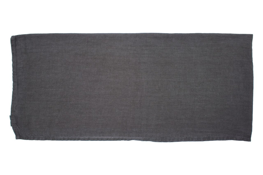 Vilnius Linen Tea Towel Charcoal Grey (Set of 2)