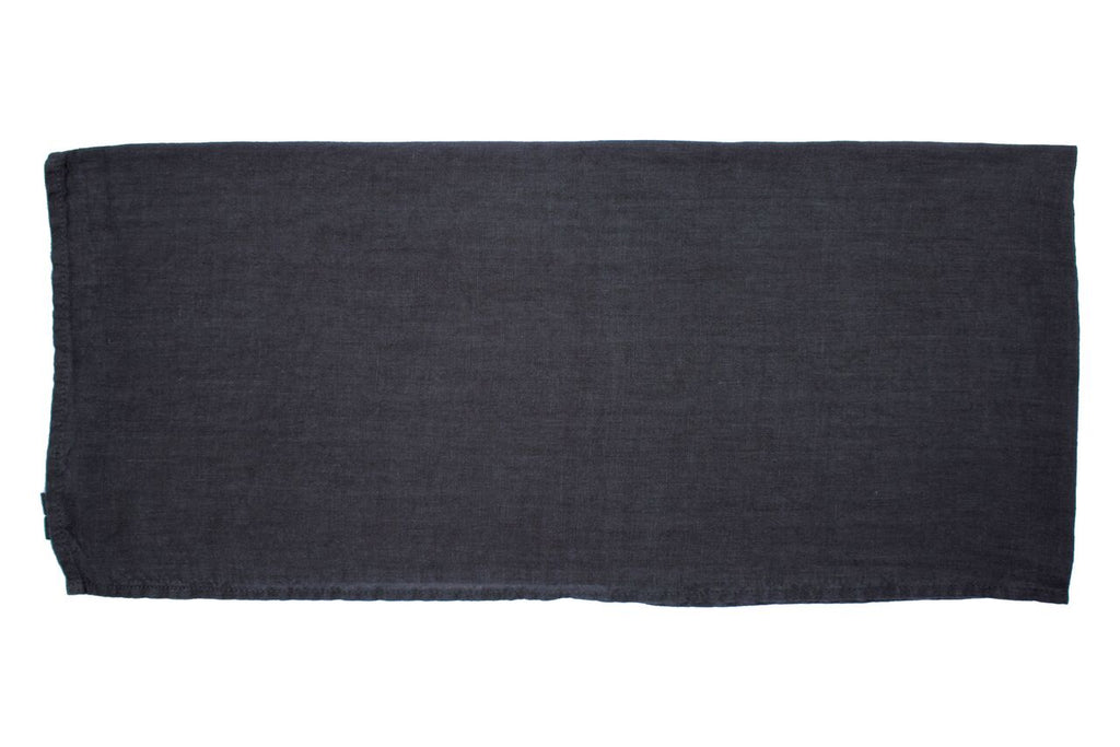 Vilnius Linen Tea Towel Dark Grey (Set of 2)