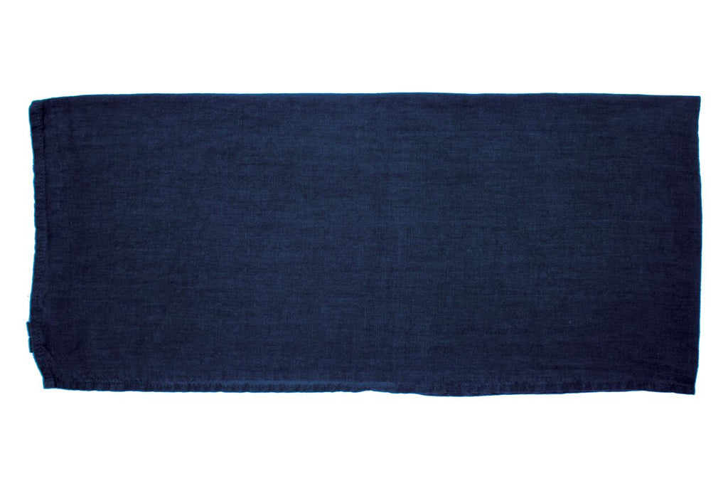 Vilnius Linen Tea Towel Grey/Blue (Set of 2)